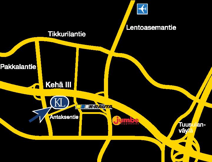 KL-Varaosat Vantaa